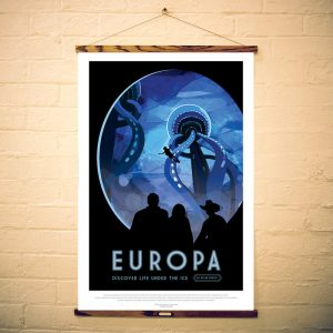 NASA Print Visit Europa