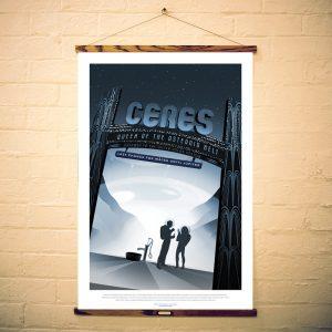NASA Print Visit Planet Ceres
