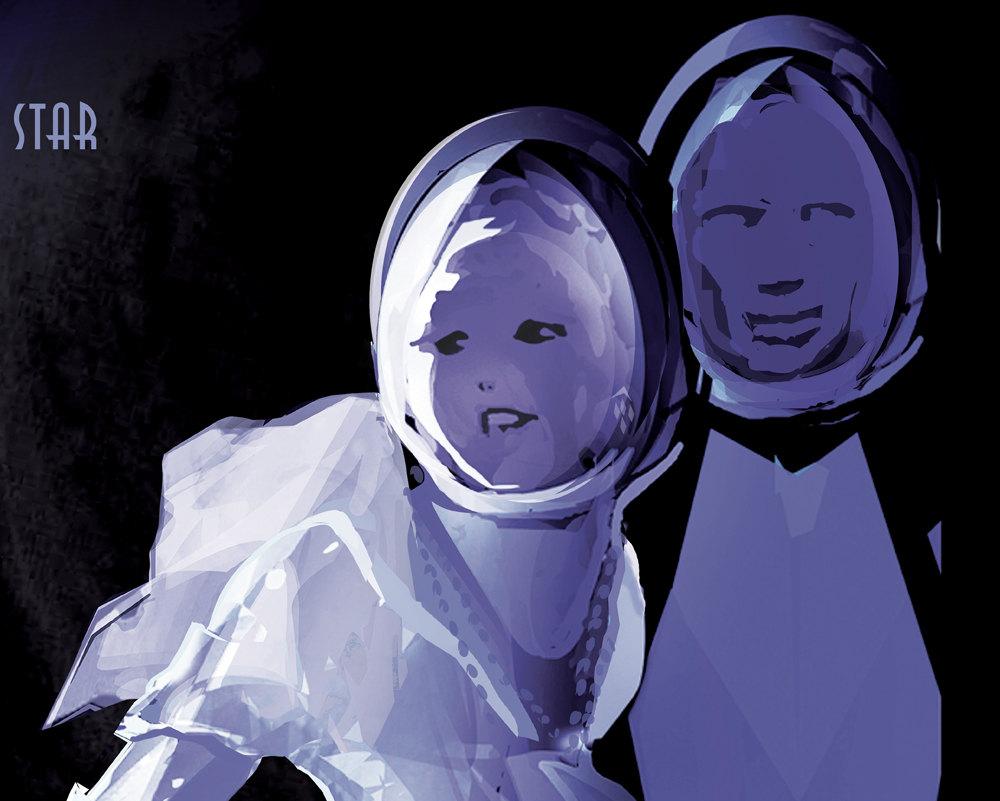 NASA Print Visit Planet PSOJ318.5